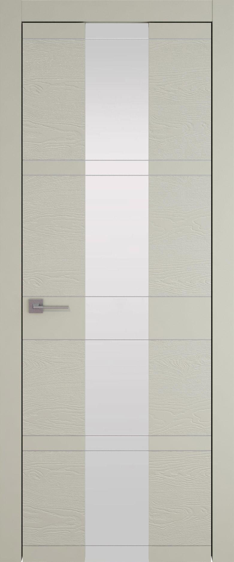 Tivoli Ж-2 цвет - Серо-оливковая эмаль-эмаль по шпону (RAL 7032) Со стеклом (ДО)