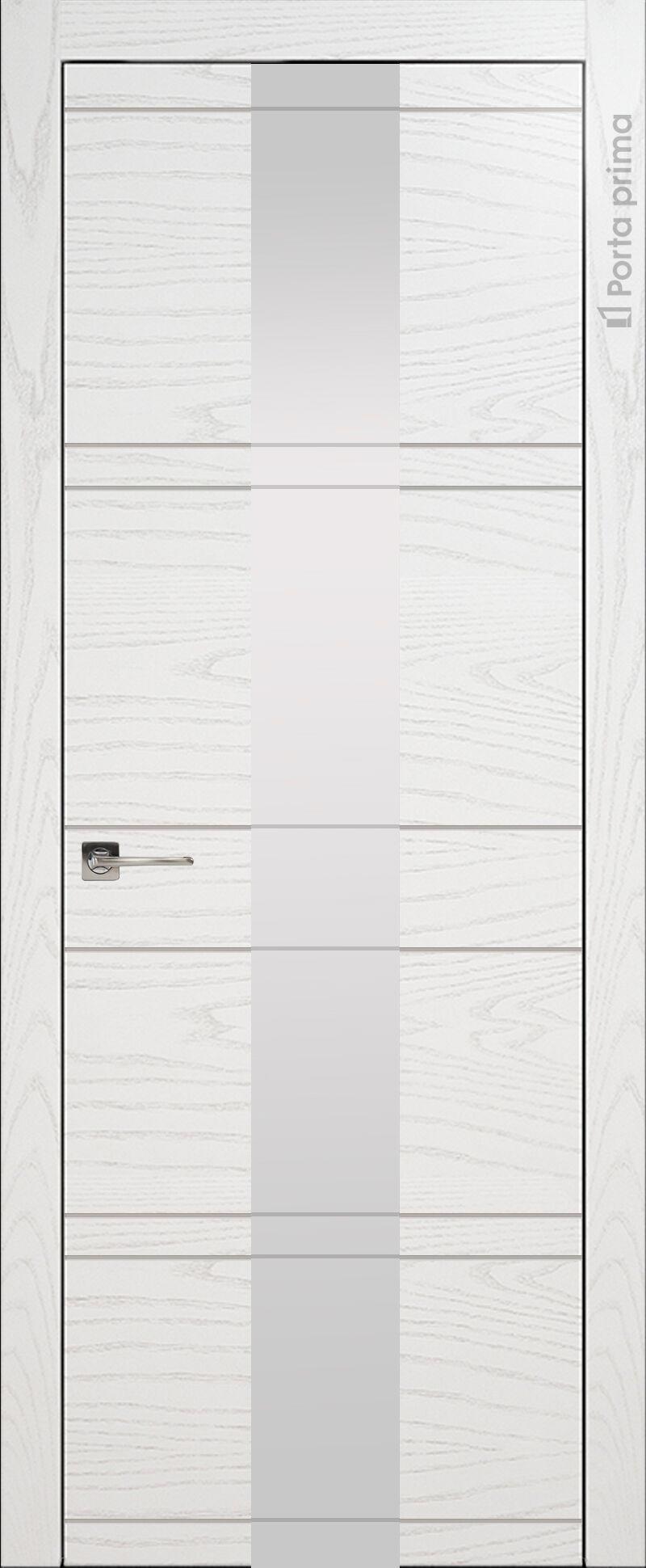 Tivoli Ж-2 цвет - Белый ясень (шпон) Со стеклом (ДО)