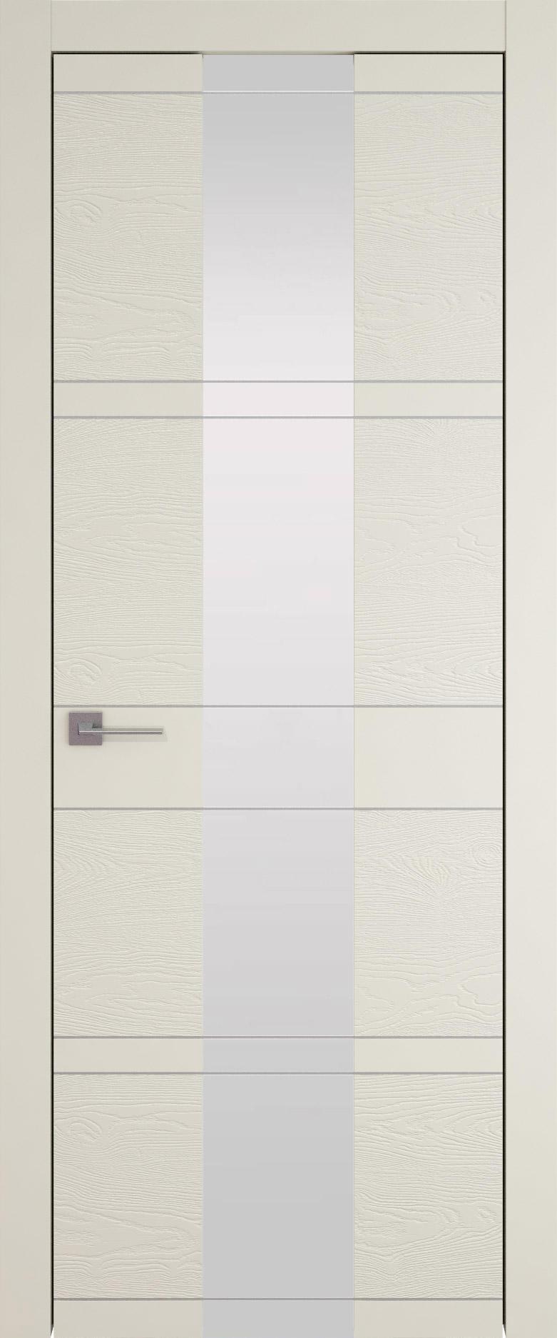 Tivoli Ж-2 цвет - Жемчужная эмаль-эмаль по шпону (RAL 1013) Со стеклом (ДО)
