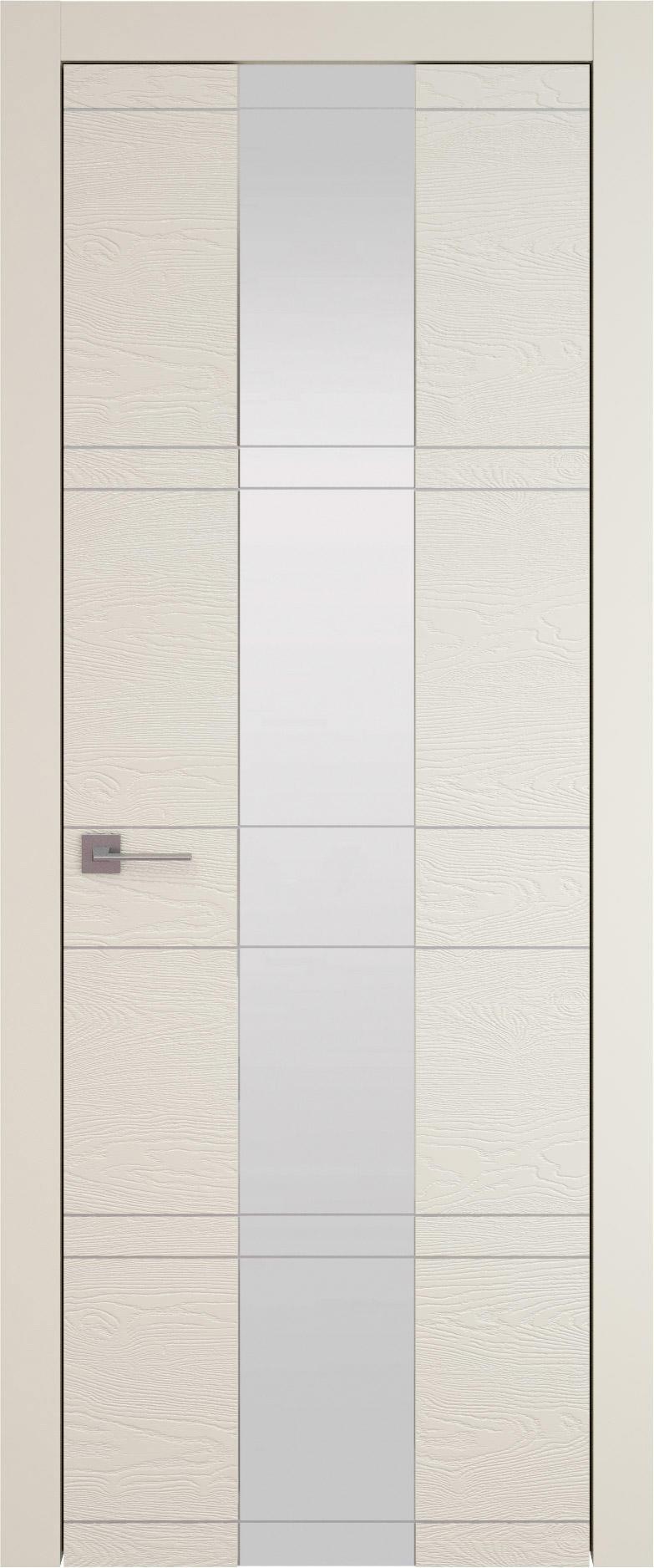 Tivoli Ж-2 цвет - Жемчужная эмаль по шпону (RAL 1013) Со стеклом (ДО)