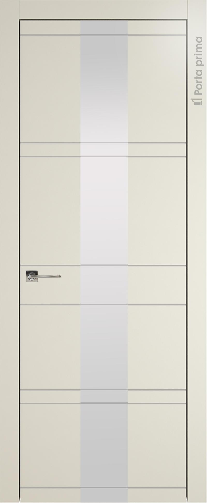 Tivoli Ж-2 цвет - Жемчужная эмаль (RAL 1013) Со стеклом (ДО)
