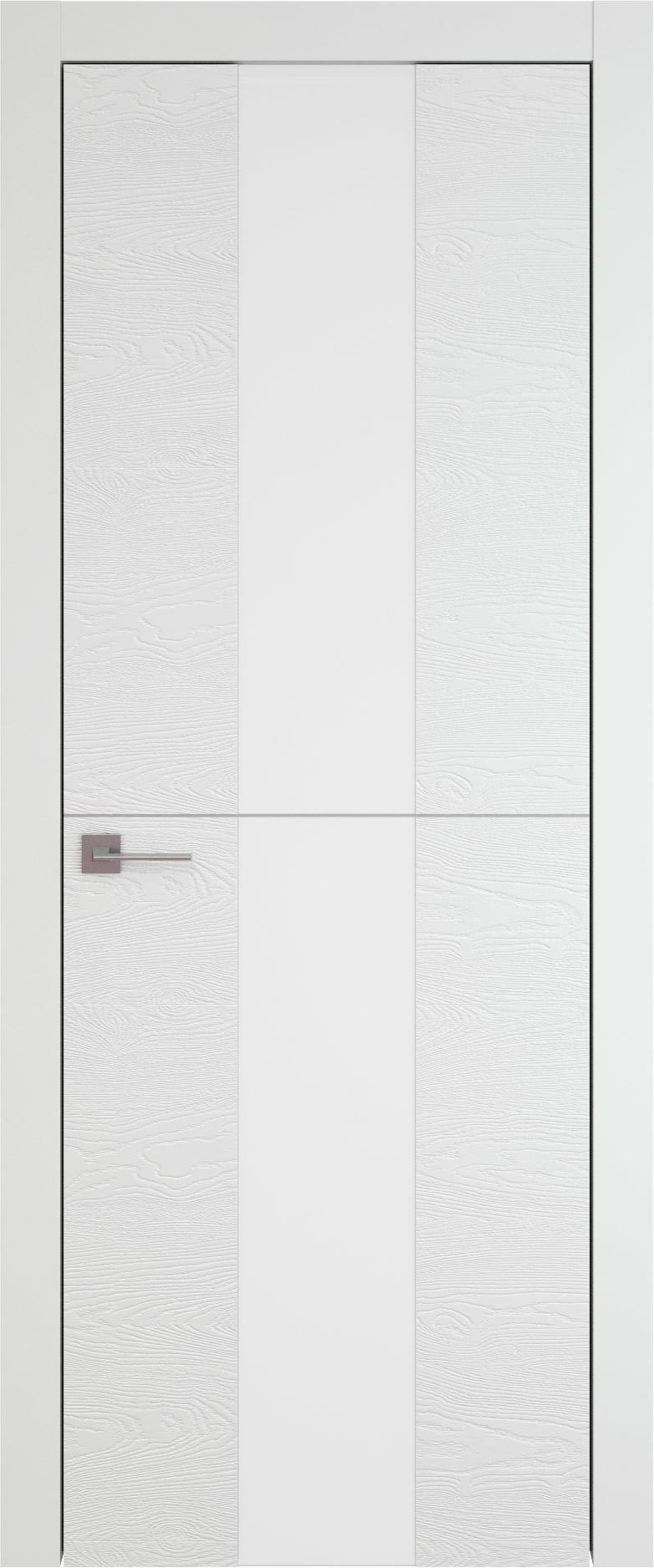 Tivoli Ж-3 цвет - Белая эмаль по шпону (RAL 9003) Со стеклом (ДО)