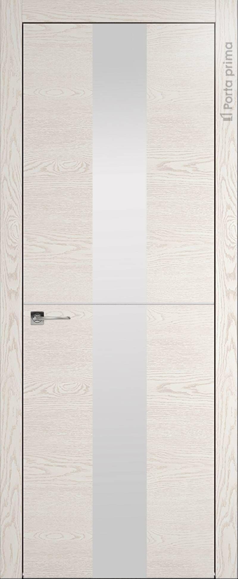 Tivoli Ж-3 цвет - Белый ясень (nano-flex) Со стеклом (ДО)