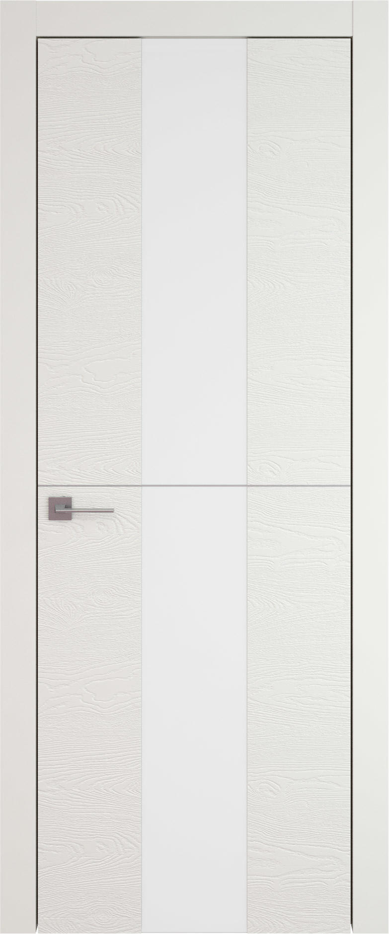 Tivoli Ж-3 цвет - Бежевая эмаль по шпону (RAL 9010) Со стеклом (ДО)