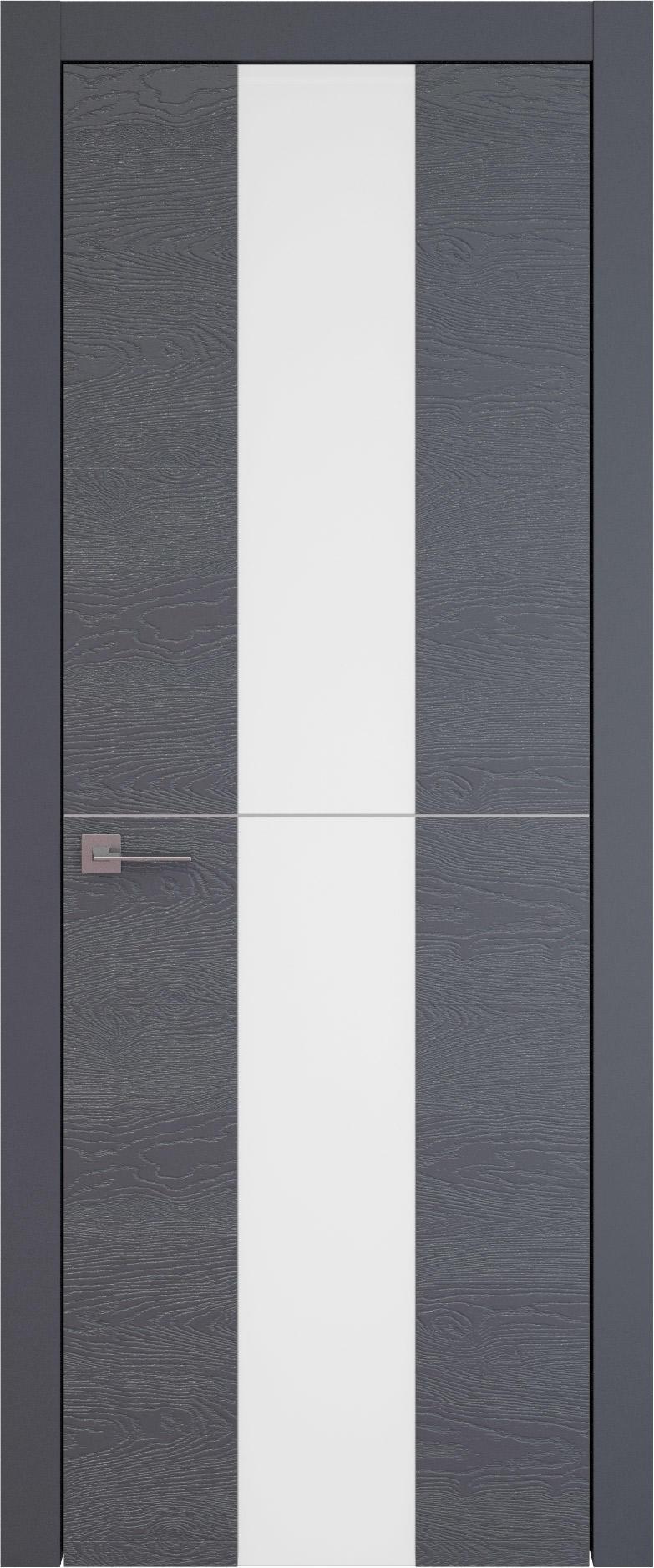 Tivoli Ж-3 цвет - Графитово-серая эмаль по шпону (RAL 7024) Со стеклом (ДО)