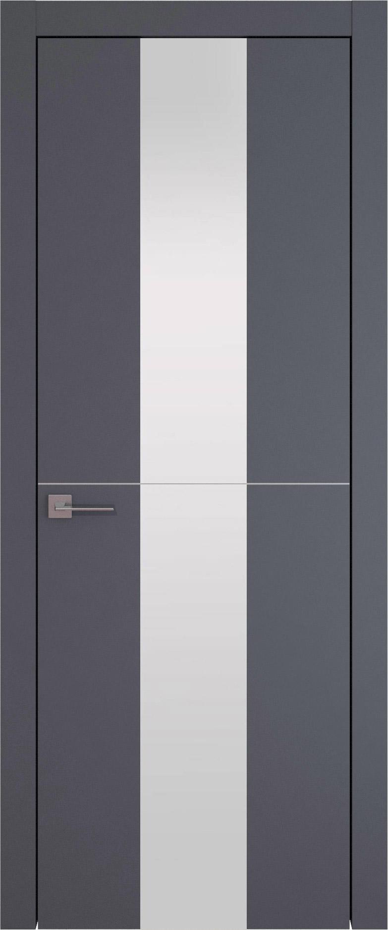 Tivoli Ж-3 цвет - Графитово-серая эмаль (RAL 7024) Со стеклом (ДО)