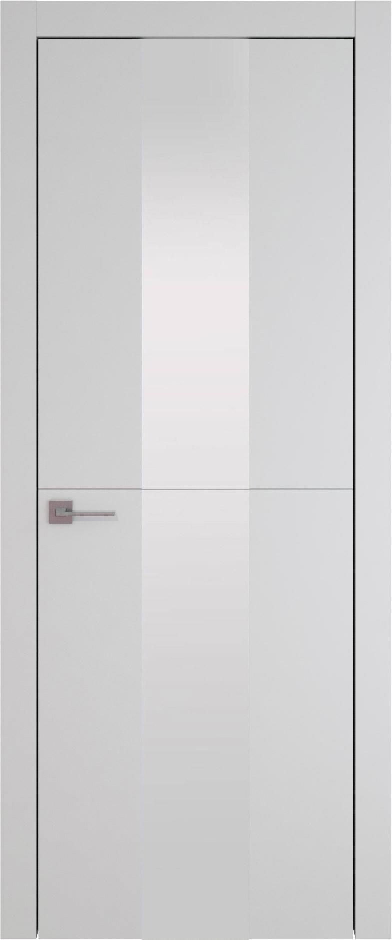 Tivoli Ж-3 цвет - Серая эмаль (RAL 7047) Со стеклом (ДО)