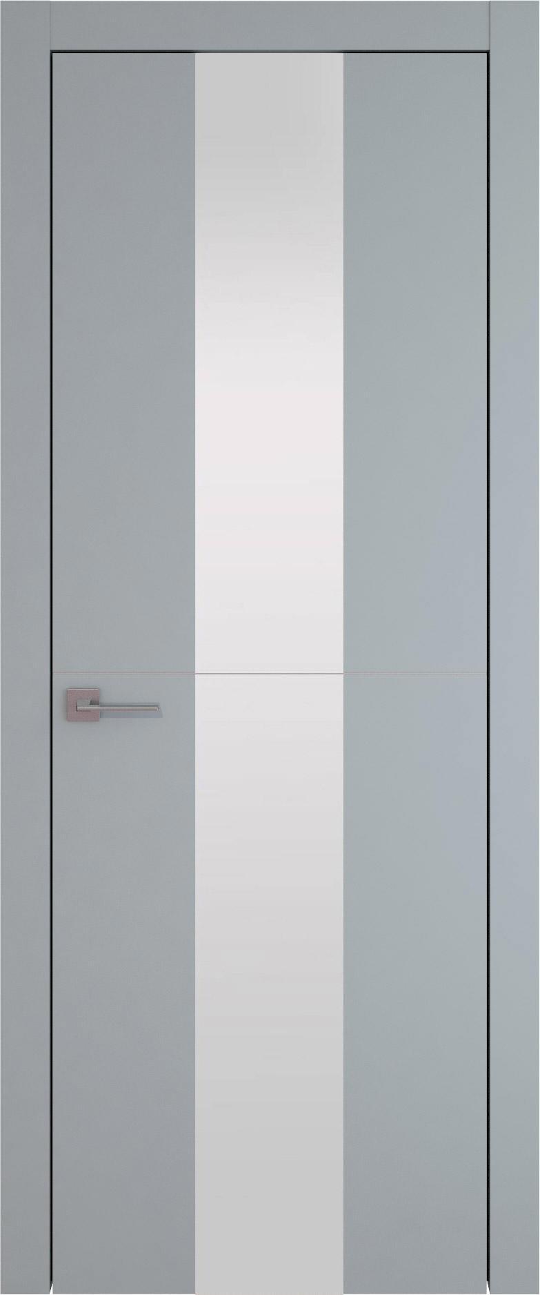 Tivoli Ж-3 цвет - Серебристо-серая эмаль (RAL 7045) Со стеклом (ДО)