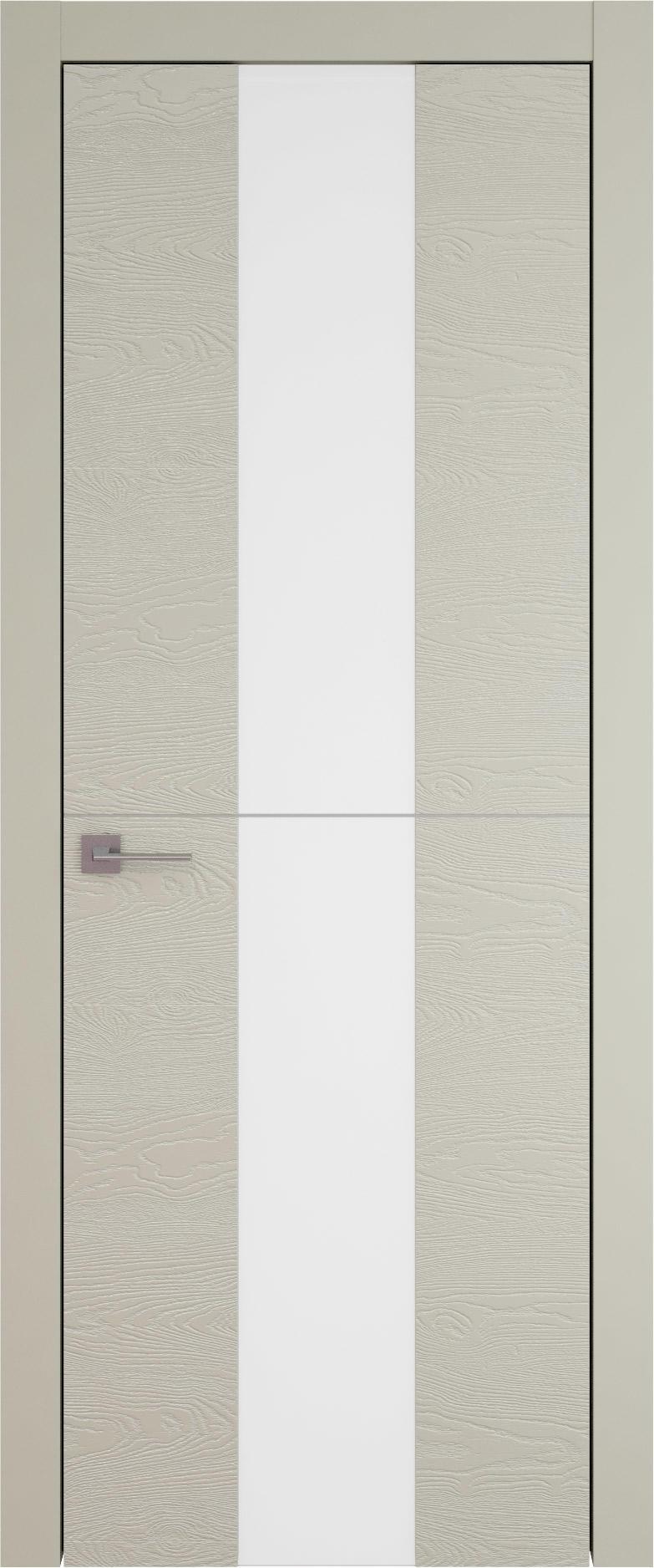 Tivoli Ж-3 цвет - Серо-оливковая эмаль по шпону (RAL 7032) Со стеклом (ДО)