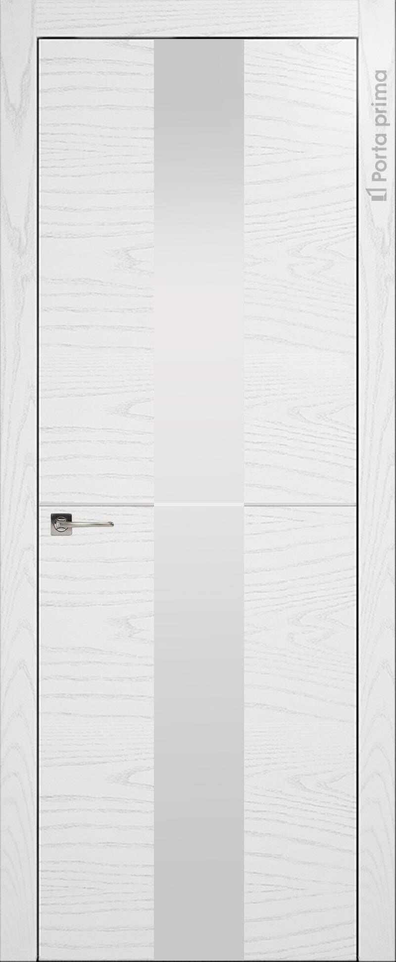 Tivoli Ж-3 цвет - Белый ясень (шпон) Со стеклом (ДО)