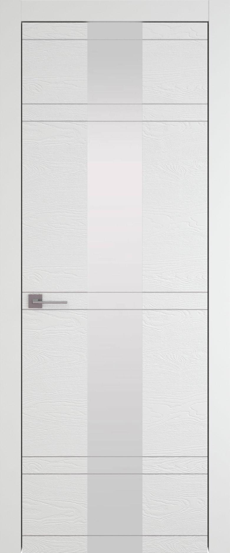 Tivoli Ж-4 цвет - Белая эмаль по шпону (RAL 9003) Со стеклом (ДО)