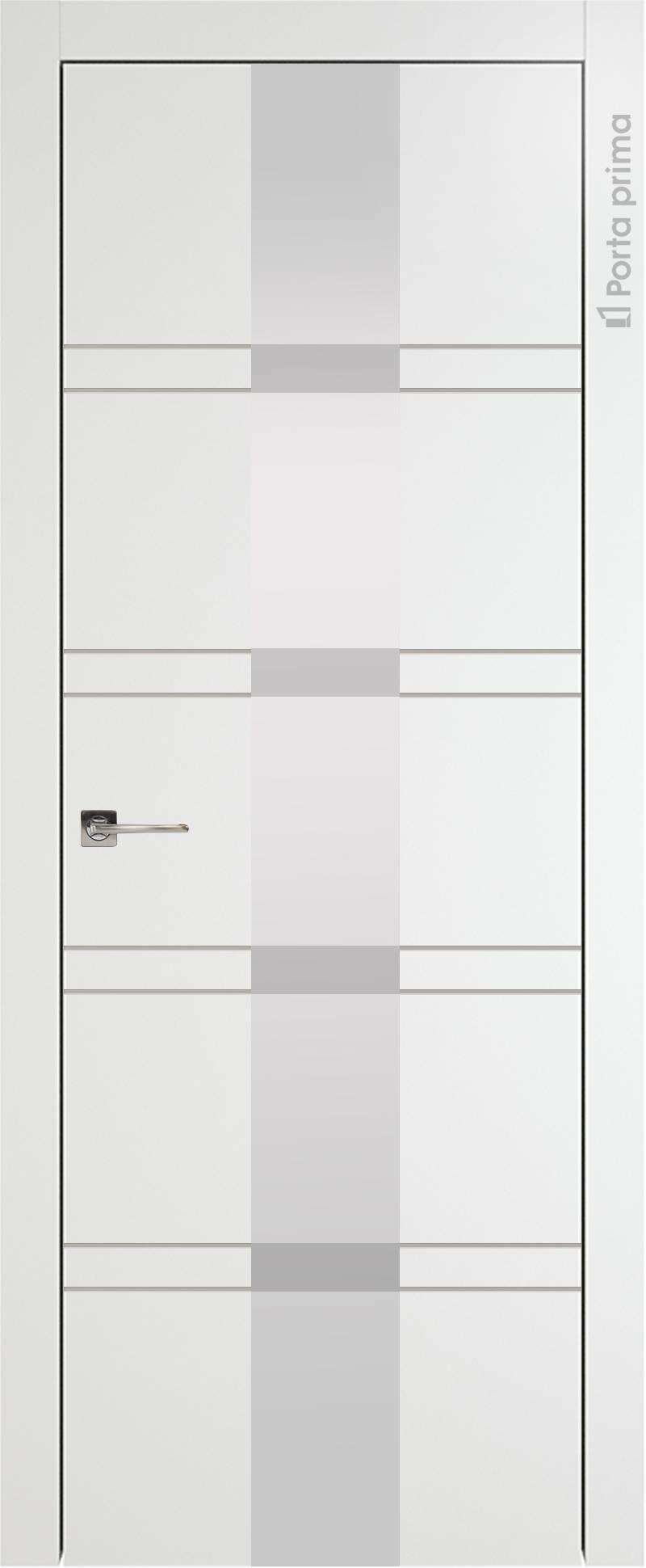 Tivoli Ж-4 цвет - Белая эмаль (RAL 9003) Со стеклом (ДО)