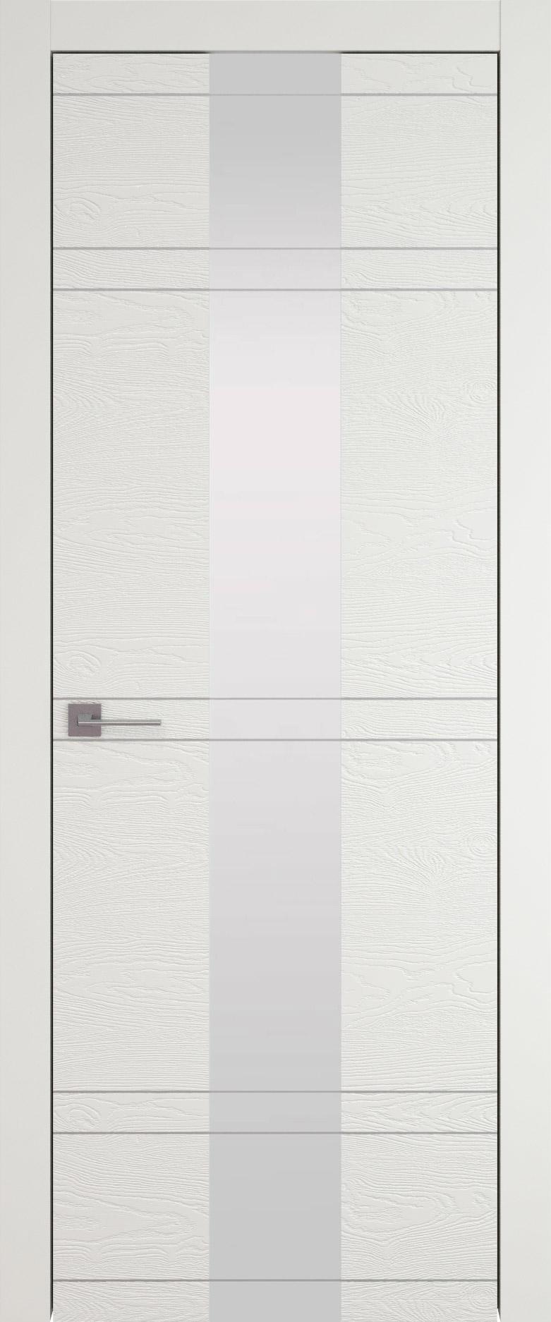 Tivoli Ж-4 цвет - Бежевая эмаль по шпону (RAL 9010) Со стеклом (ДО)