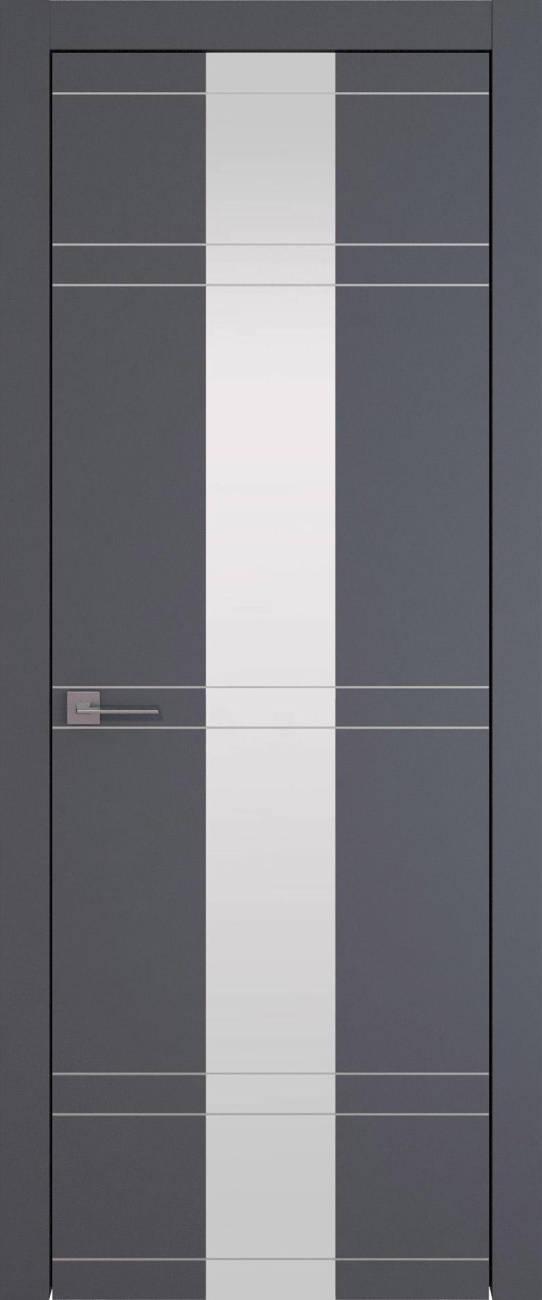 Tivoli Ж-4 цвет - Графитово-серая эмаль (RAL 7024) Со стеклом (ДО)