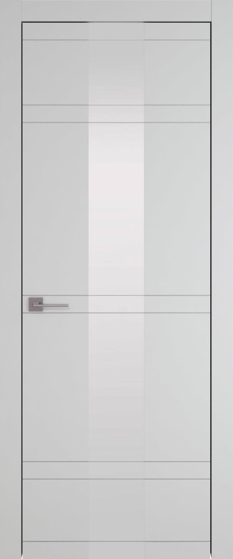 Tivoli Ж-4 цвет - Серая эмаль (RAL 7047) Со стеклом (ДО)