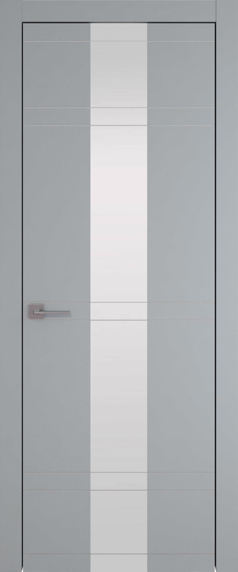 Tivoli Ж-4 цвет - Серебристо-серая эмаль (RAL 7045) Со стеклом (ДО)