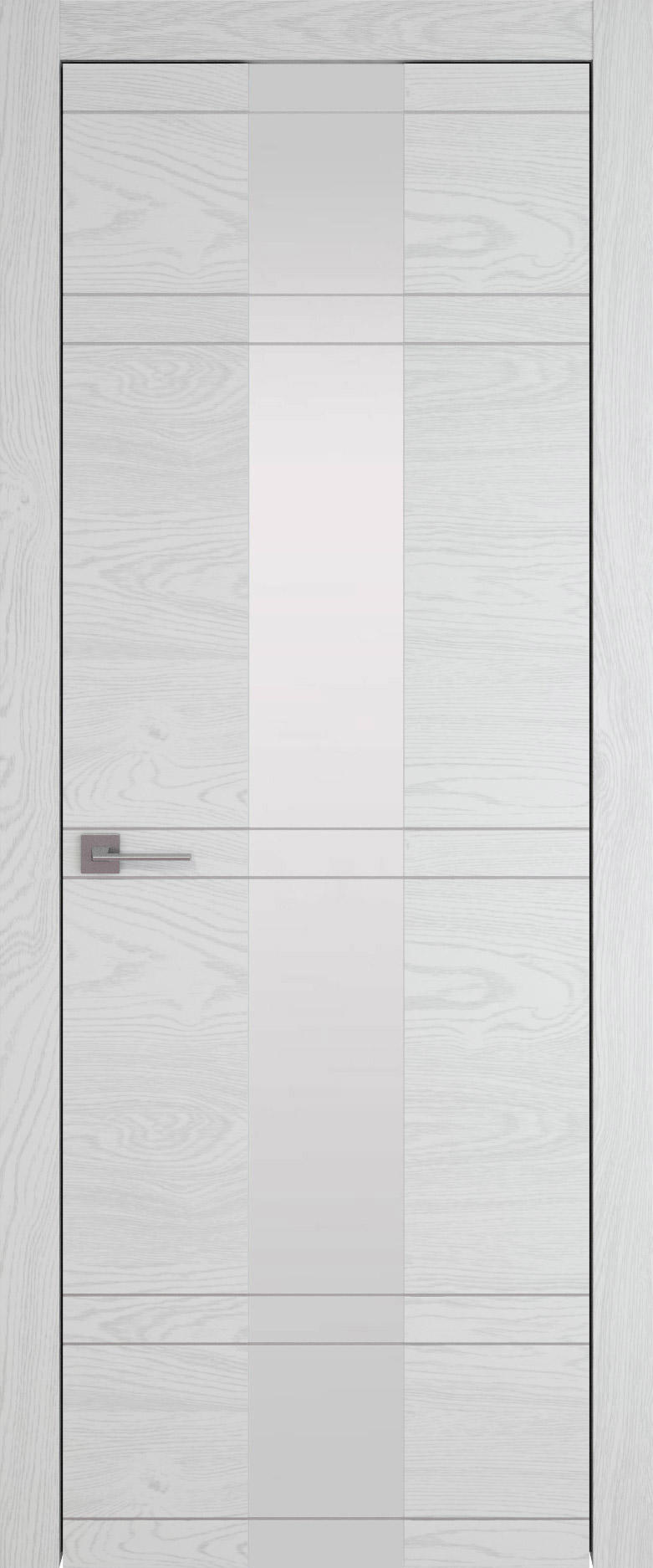 Tivoli Ж-4 цвет - Белый ясень (шпон) Со стеклом (ДО)