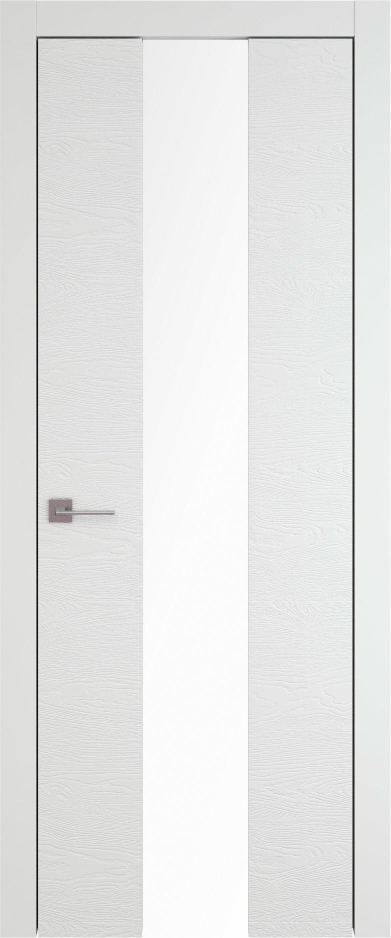 Tivoli Ж-5 цвет - Белая эмаль по шпону (RAL 9003) Со стеклом (ДО)