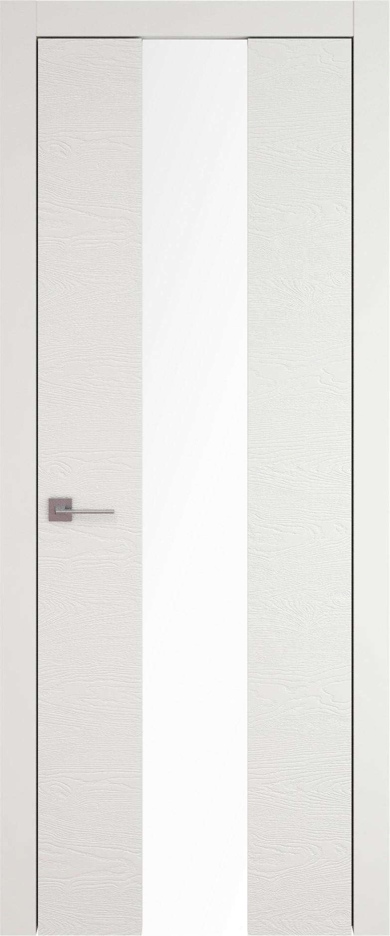 Tivoli Ж-5 цвет - Бежевая эмаль по шпону (RAL 9010) Со стеклом (ДО)