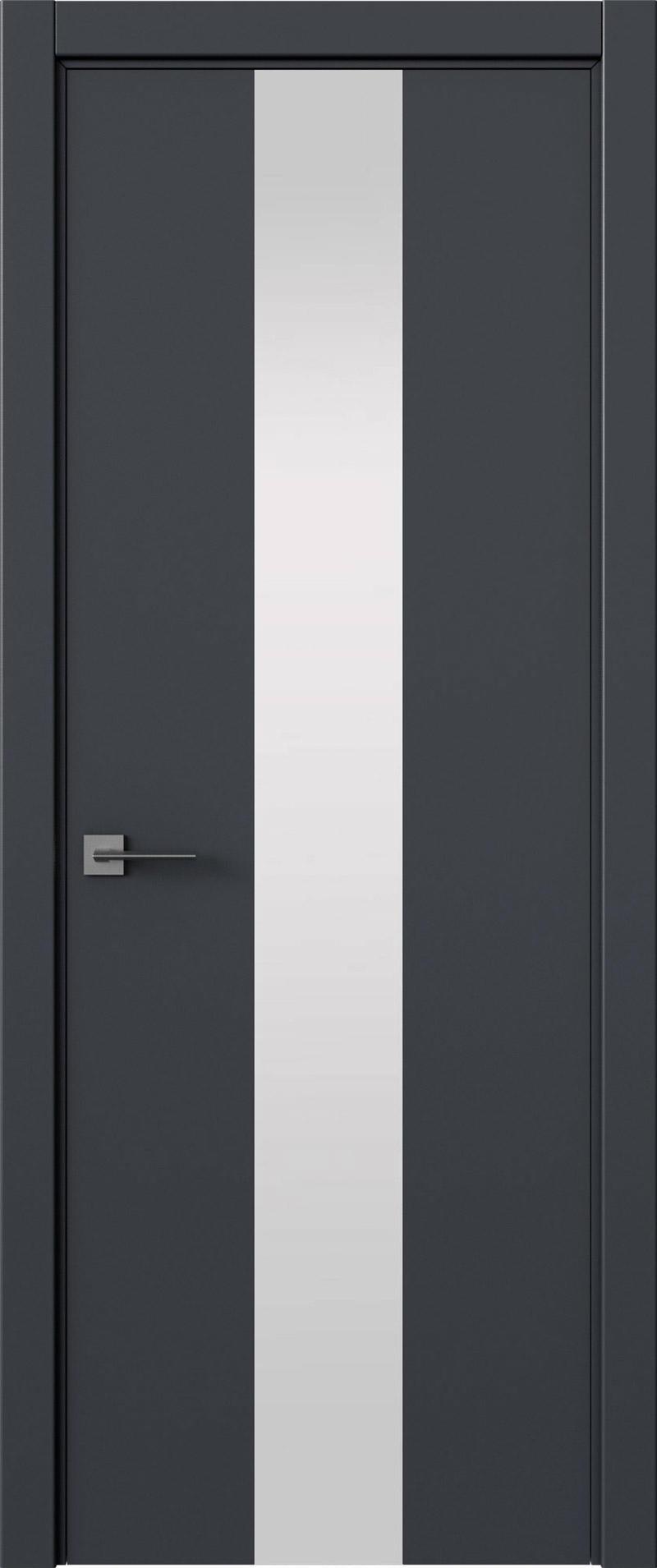 Tivoli Ж-5 цвет - Графитово-серая эмаль (RAL 7024) Со стеклом (ДО)