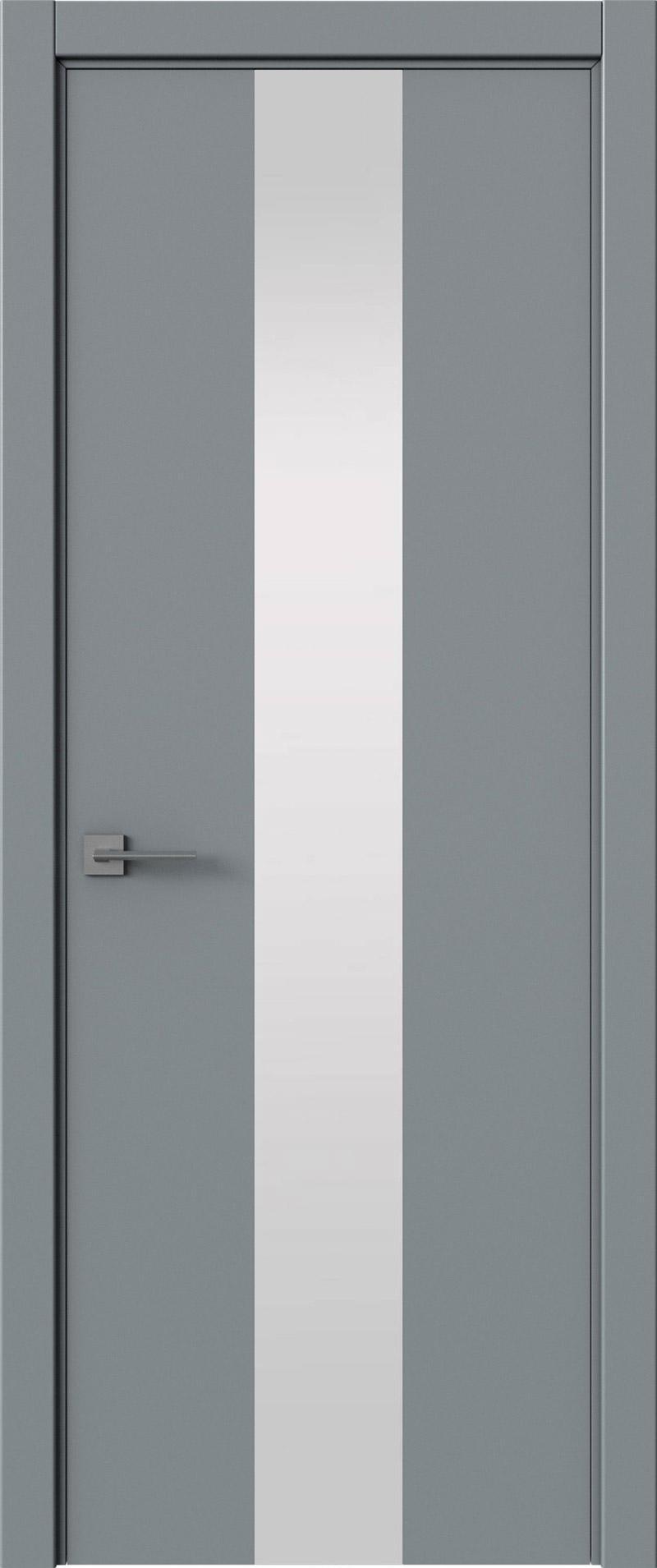Tivoli Ж-5 цвет - Серебристо-серая эмаль (RAL 7045) Со стеклом (ДО)