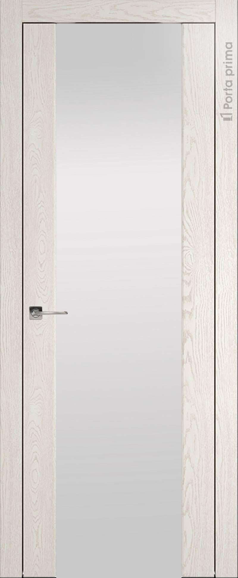 Torino цвет - Белый ясень (nano-flex) Со стеклом (ДО)