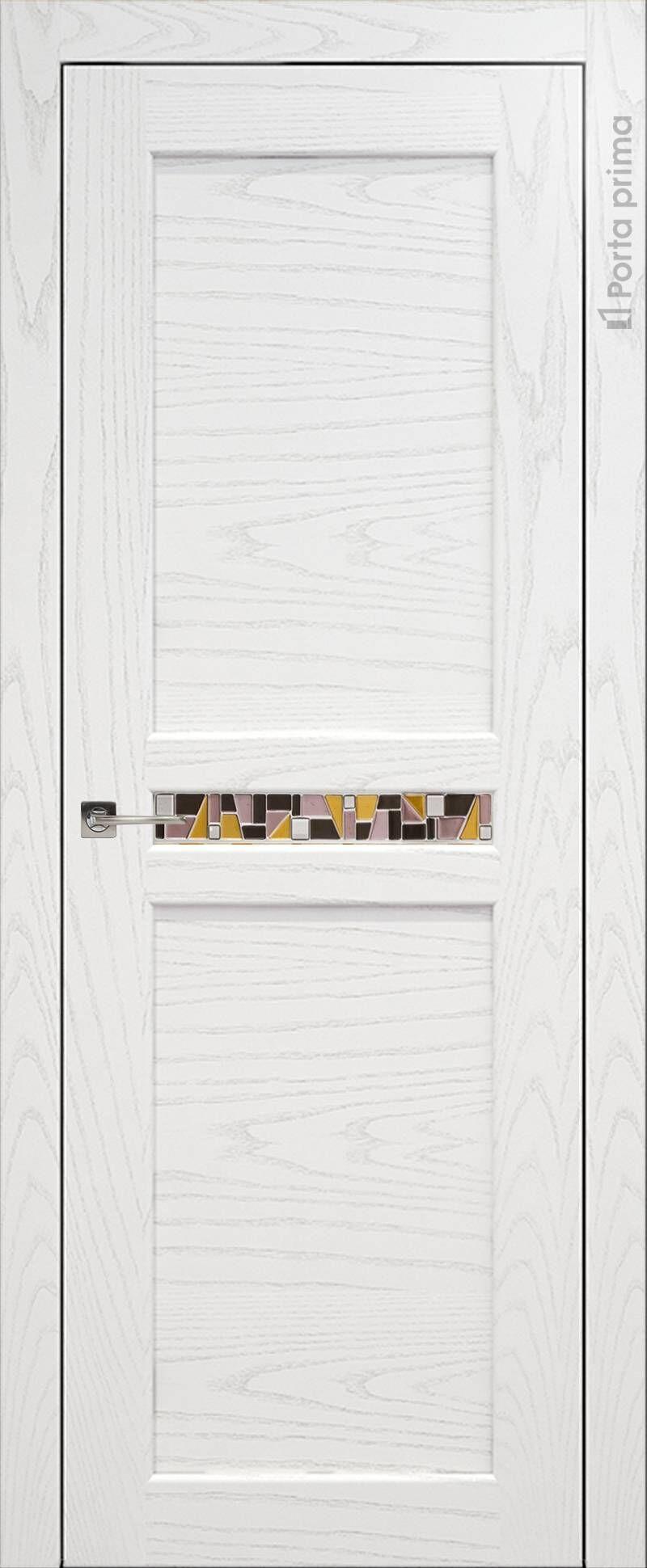 Verona цвет - Белый ясень (шпон) Без стекла (ДГ)