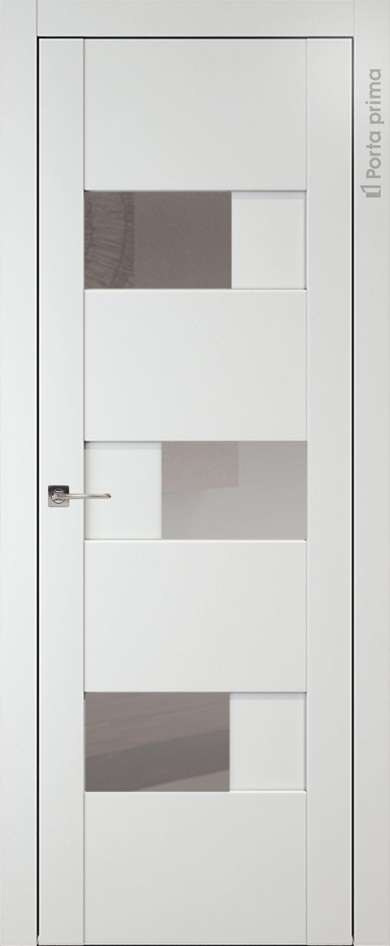 Vicenza цвет - Белая эмаль (RAL 9003) Со стеклом (ДО)