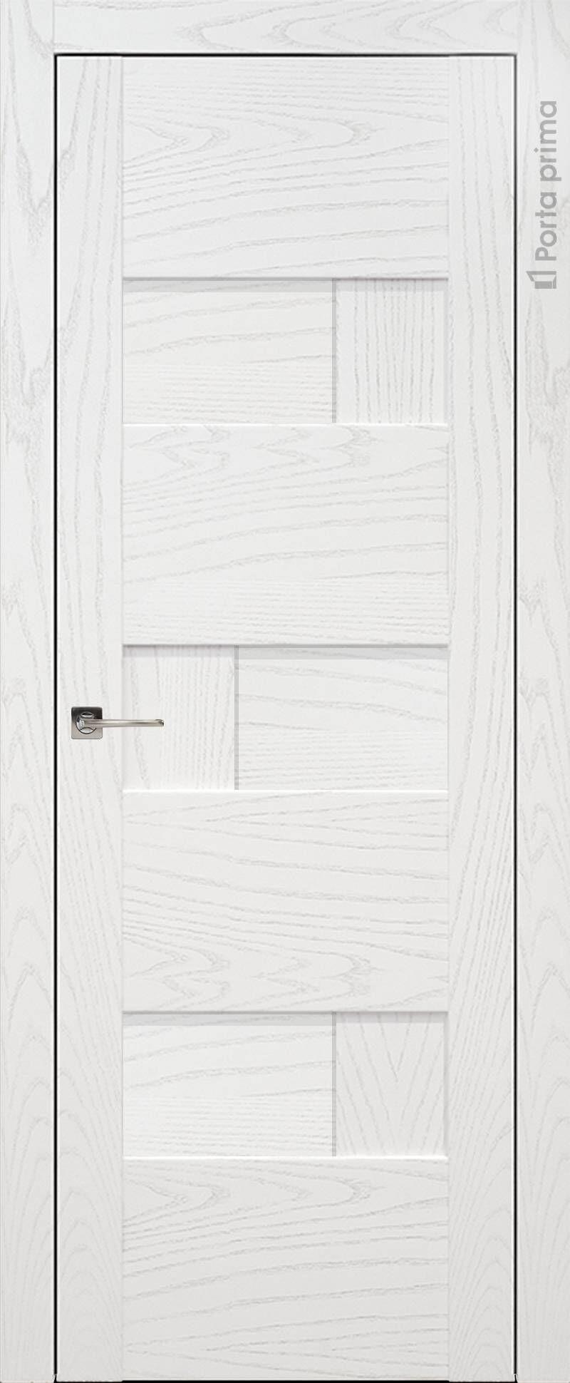 Vicenza цвет - Белый ясень (шпон) Без стекла (ДГ)