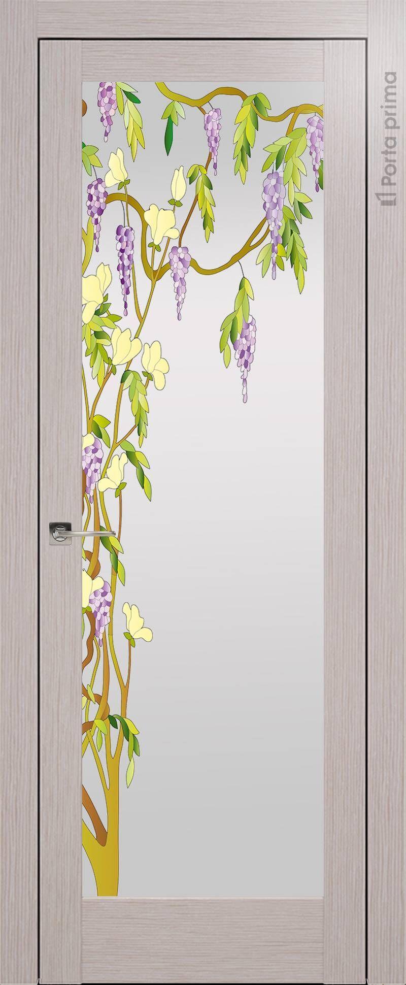 Strada цвет - Дымчатый дуб Со стеклом (ДО)