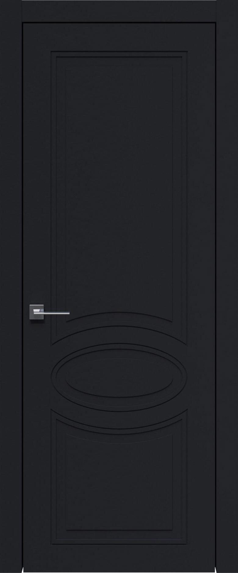 Florencia Neo Classic цвет - Черная эмаль (RAL 9004) Без стекла (ДГ)