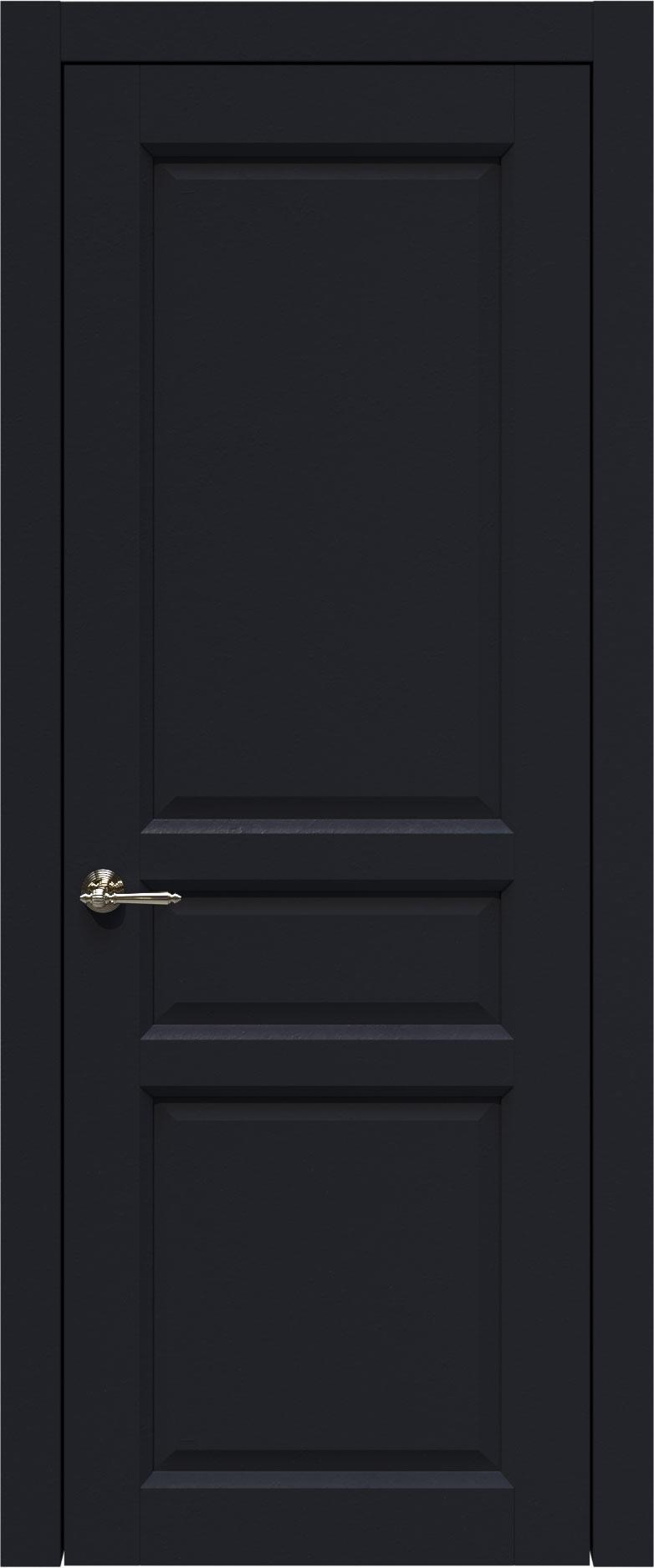 Imperia-R цвет - Черная эмаль (RAL 9004) Без стекла (ДГ)