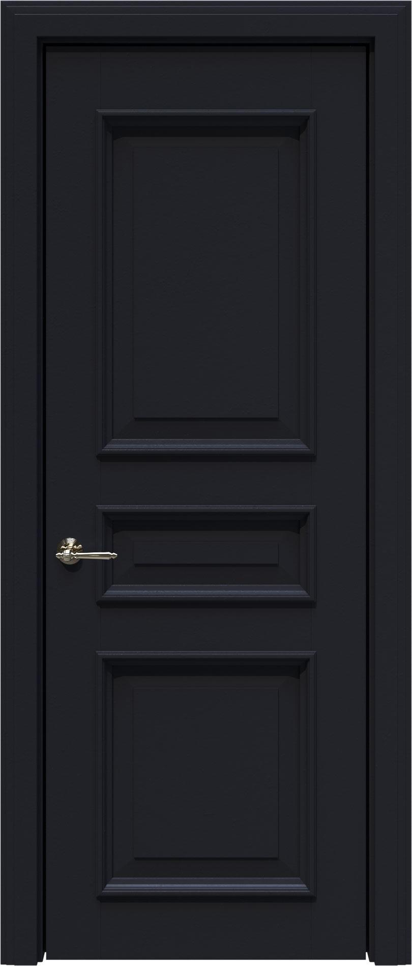 Imperia-R LUX цвет - Черная эмаль (RAL 9004) Без стекла (ДГ)