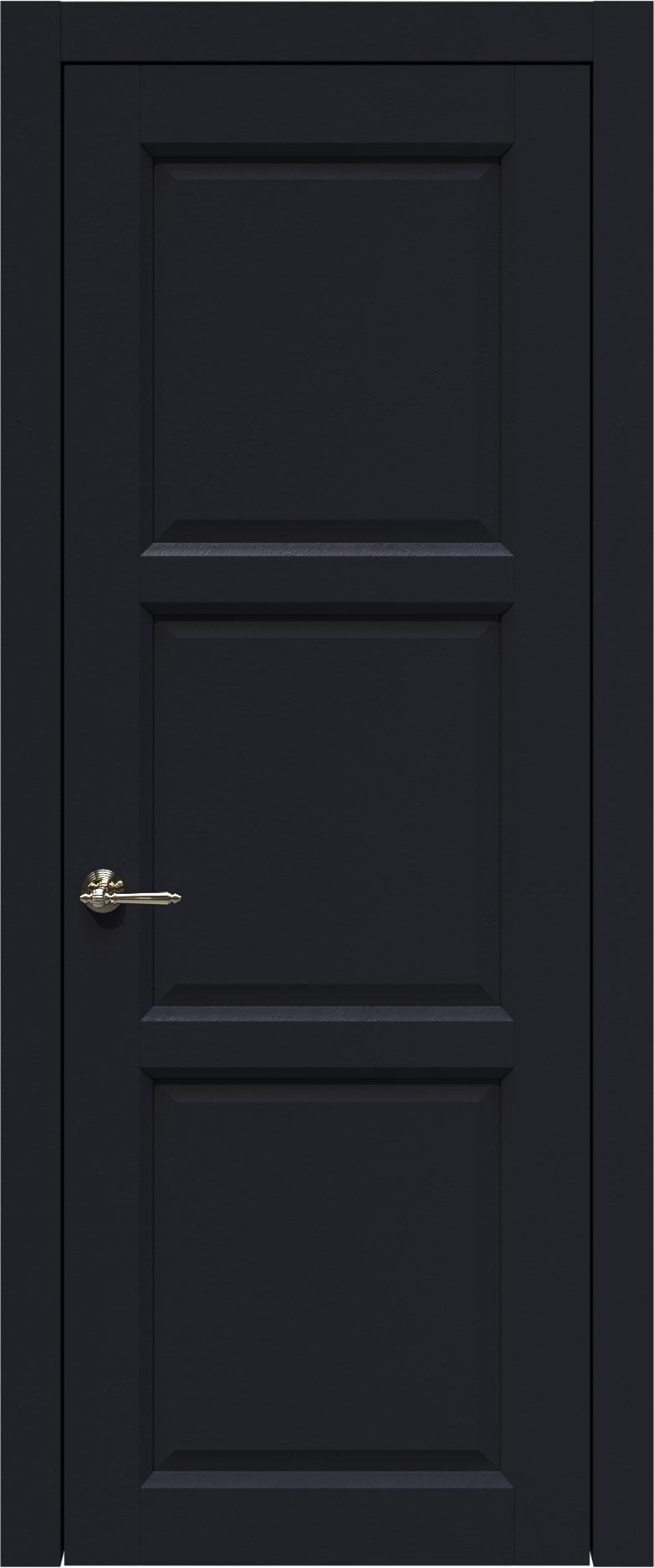 Milano цвет - Черная эмаль (RAL 9004) Без стекла (ДГ)