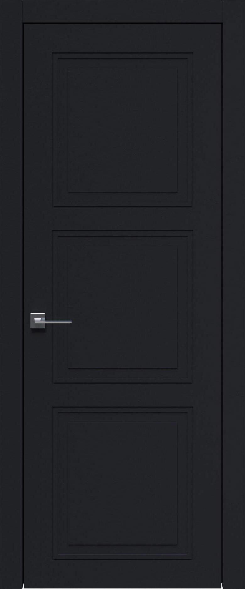 Milano Neo Classic цвет - Черная эмаль (RAL 9004) Без стекла (ДГ)