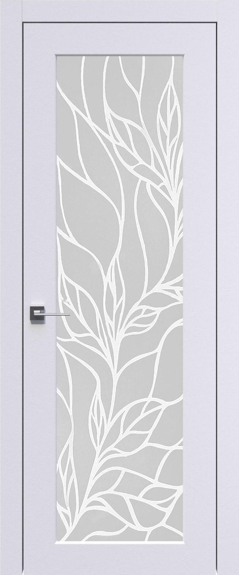 Pianta цвет - Арктик белый Со стеклом (ДО)