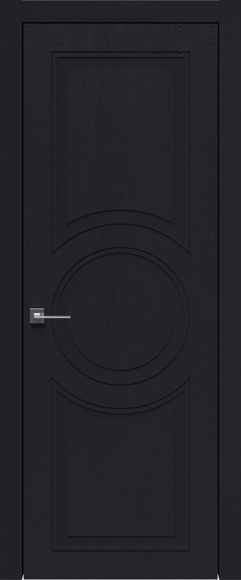 Ravenna Neo Classic цвет - Черная эмаль по шпону (RAL 9004) Без стекла (ДГ)