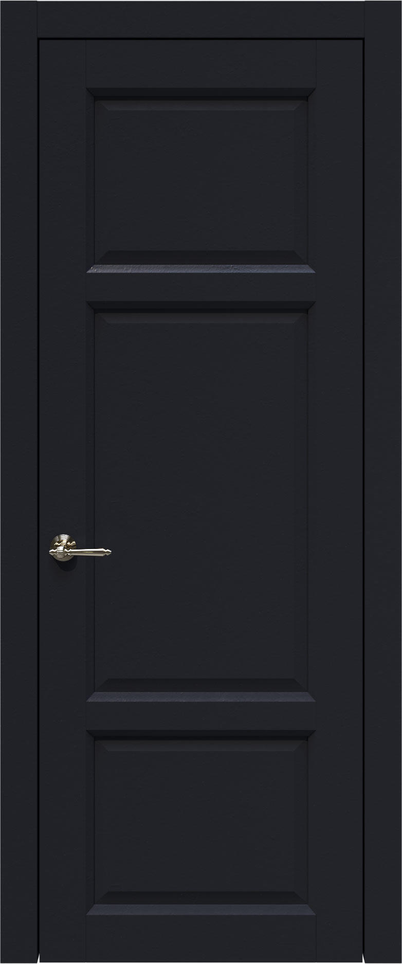Siena цвет - Черная эмаль (RAL 9004) Без стекла (ДГ)