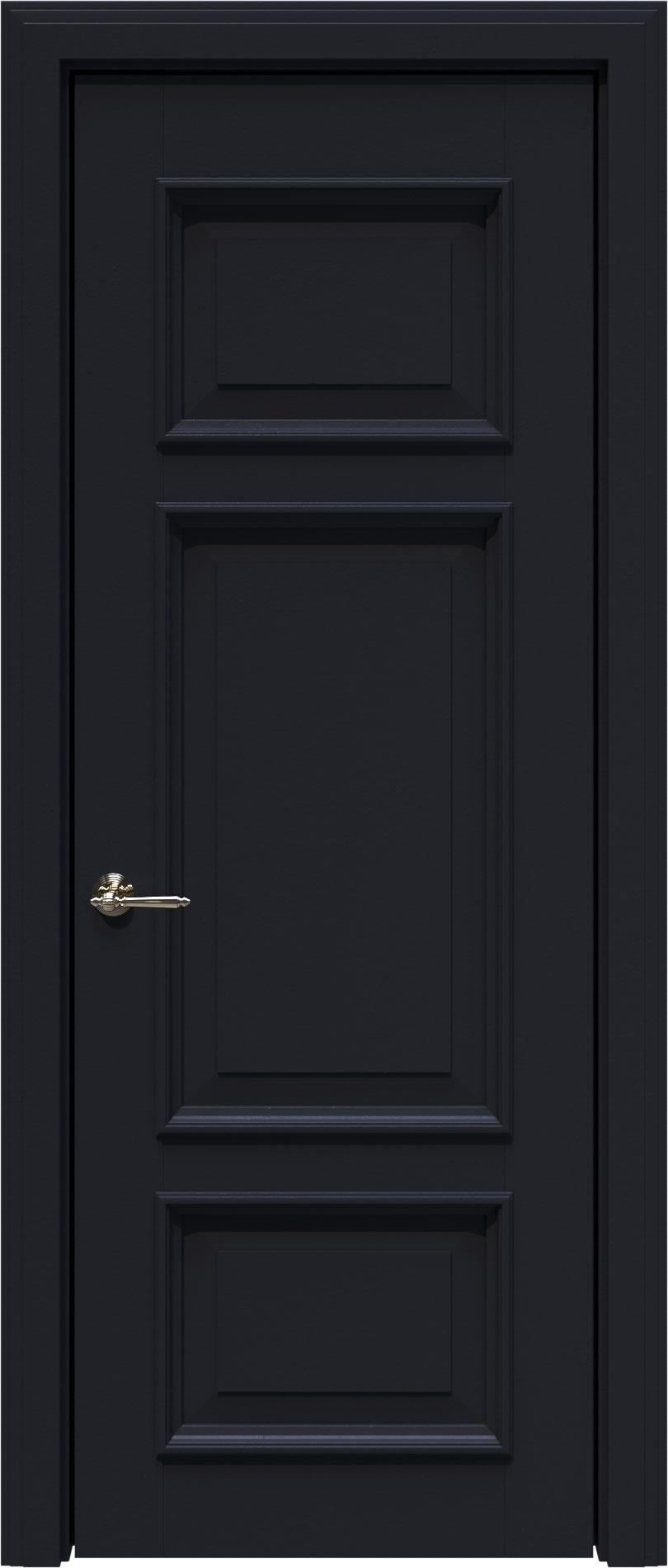 Siena LUX цвет - Черная эмаль (RAL 9004) Без стекла (ДГ)