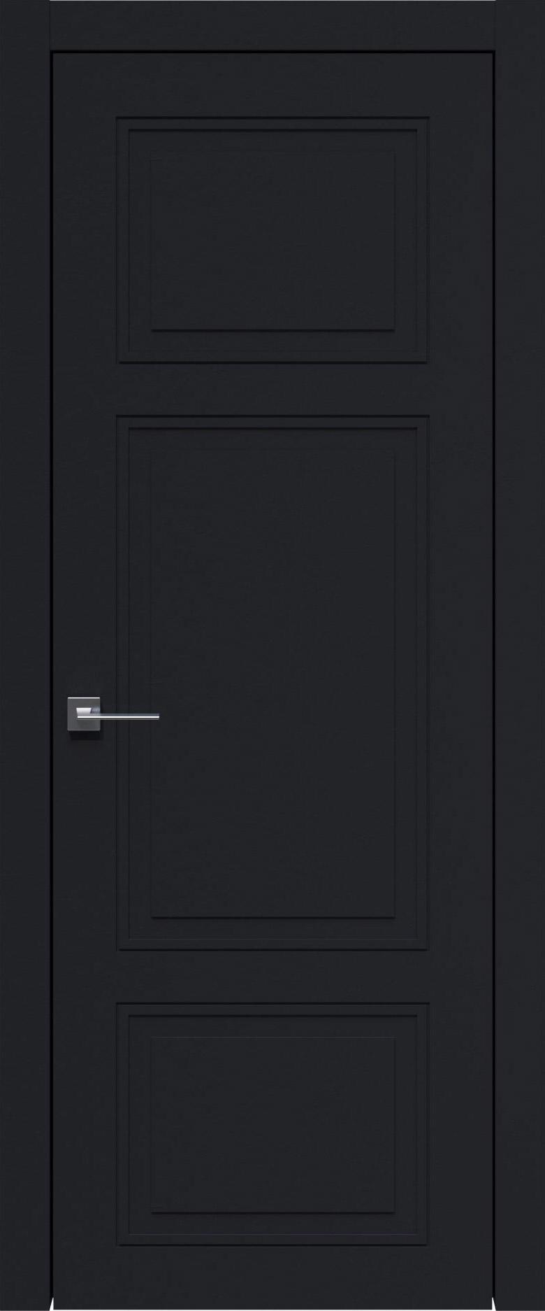 Siena Neo Classic цвет - Черная эмаль (RAL 9004) Без стекла (ДГ)