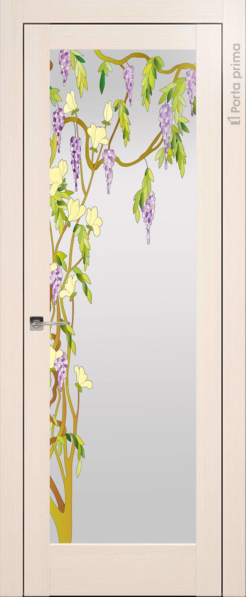 Strada цвет - Беленый дуб Со стеклом (ДО)