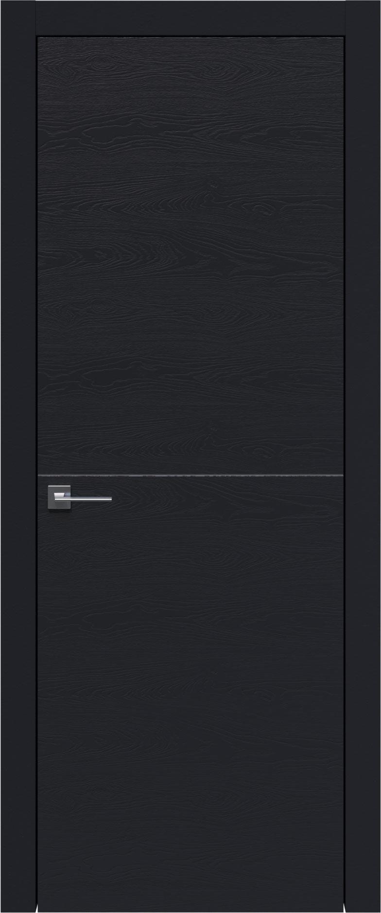 Tivoli Б-3 цвет - Черная эмаль по шпону (RAL 9004) Без стекла (ДГ)