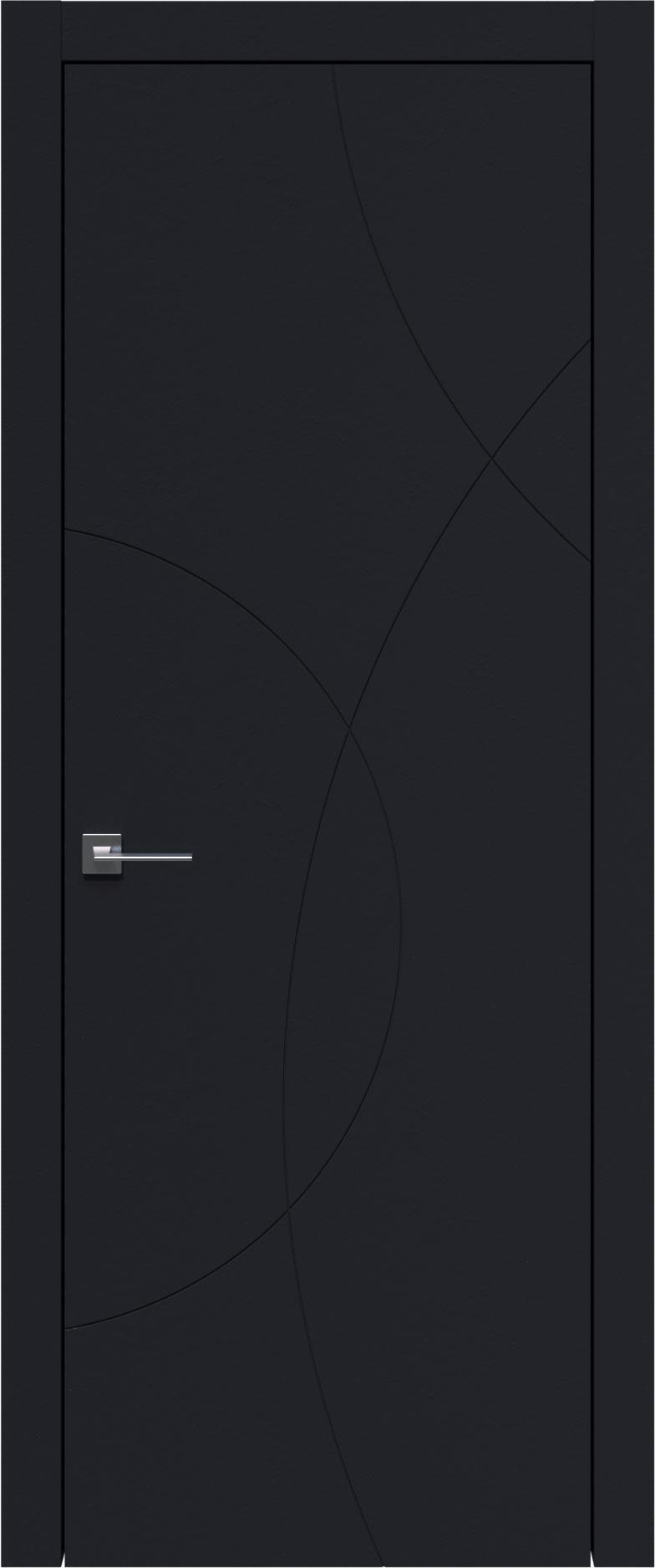 Tivoli Б-5 цвет - Черная эмаль (RAL 9004) Без стекла (ДГ)