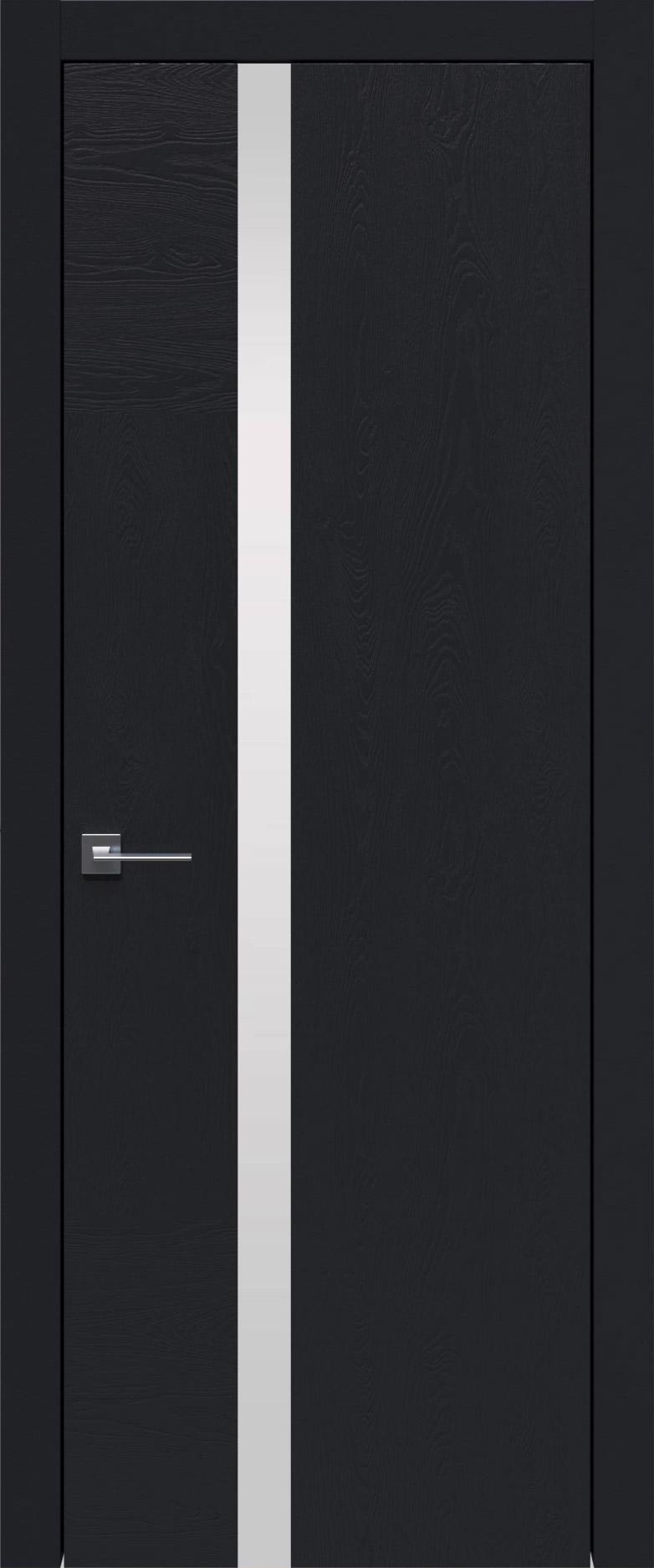 Tivoli Д-1 цвет - Черная эмаль по шпону (RAL 9004) Без стекла (ДГ)