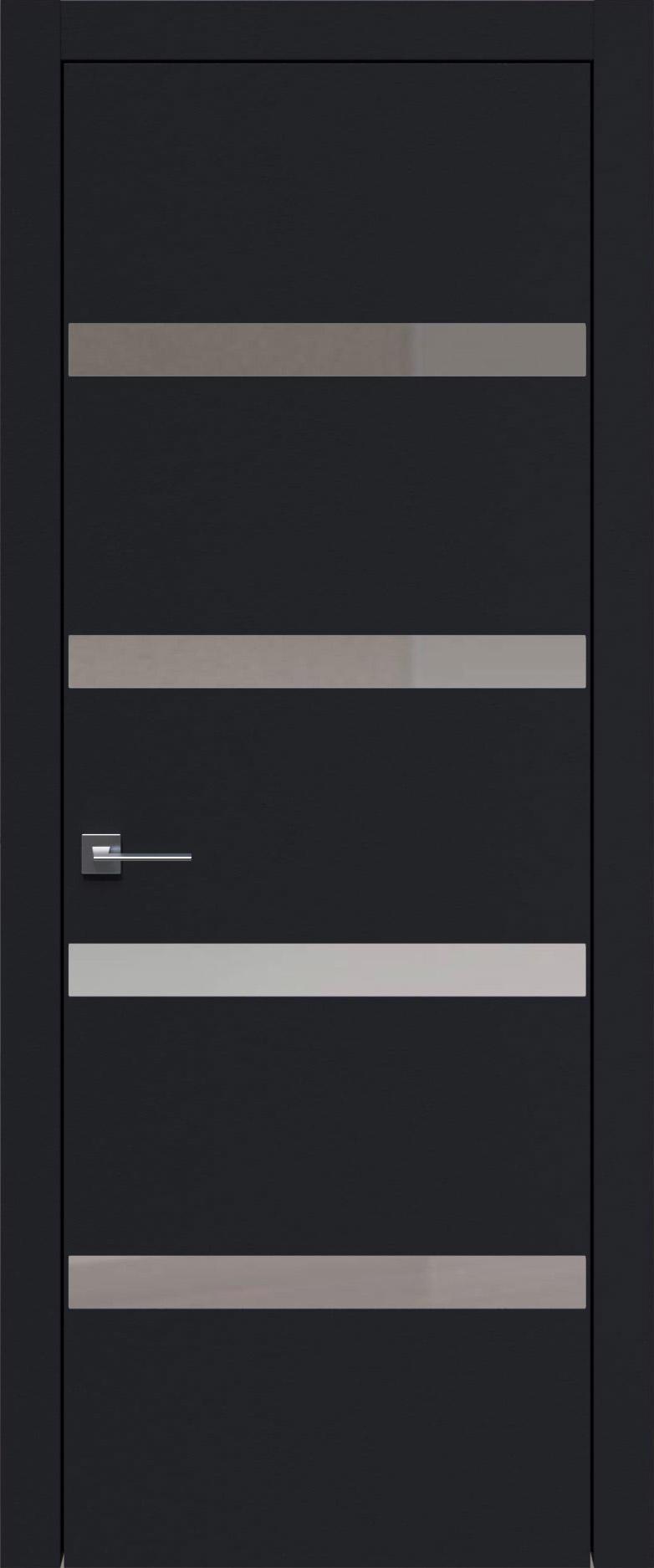 Tivoli Д-4 цвет - Черная эмаль (RAL 9004) Без стекла (ДГ)