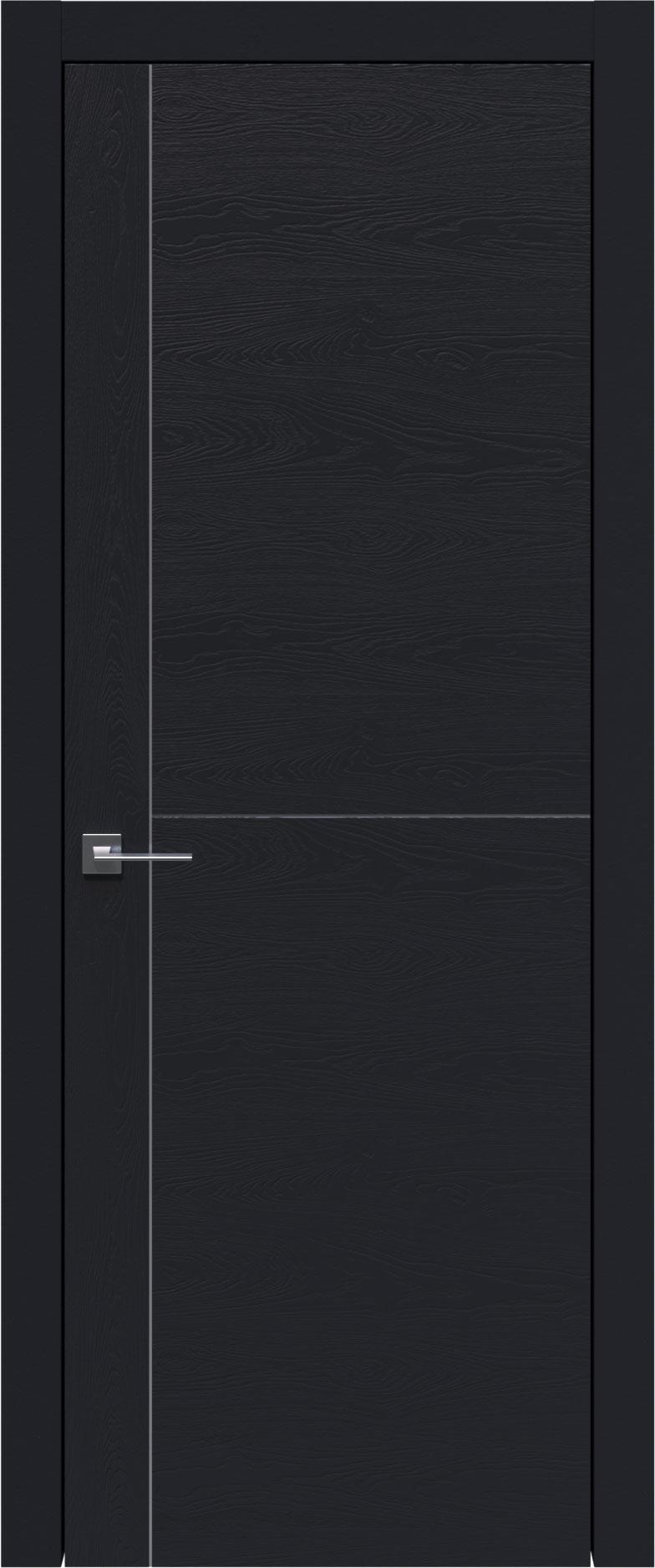 Tivoli Е-3 цвет - Черная эмаль по шпону (RAL 9004) Без стекла (ДГ)