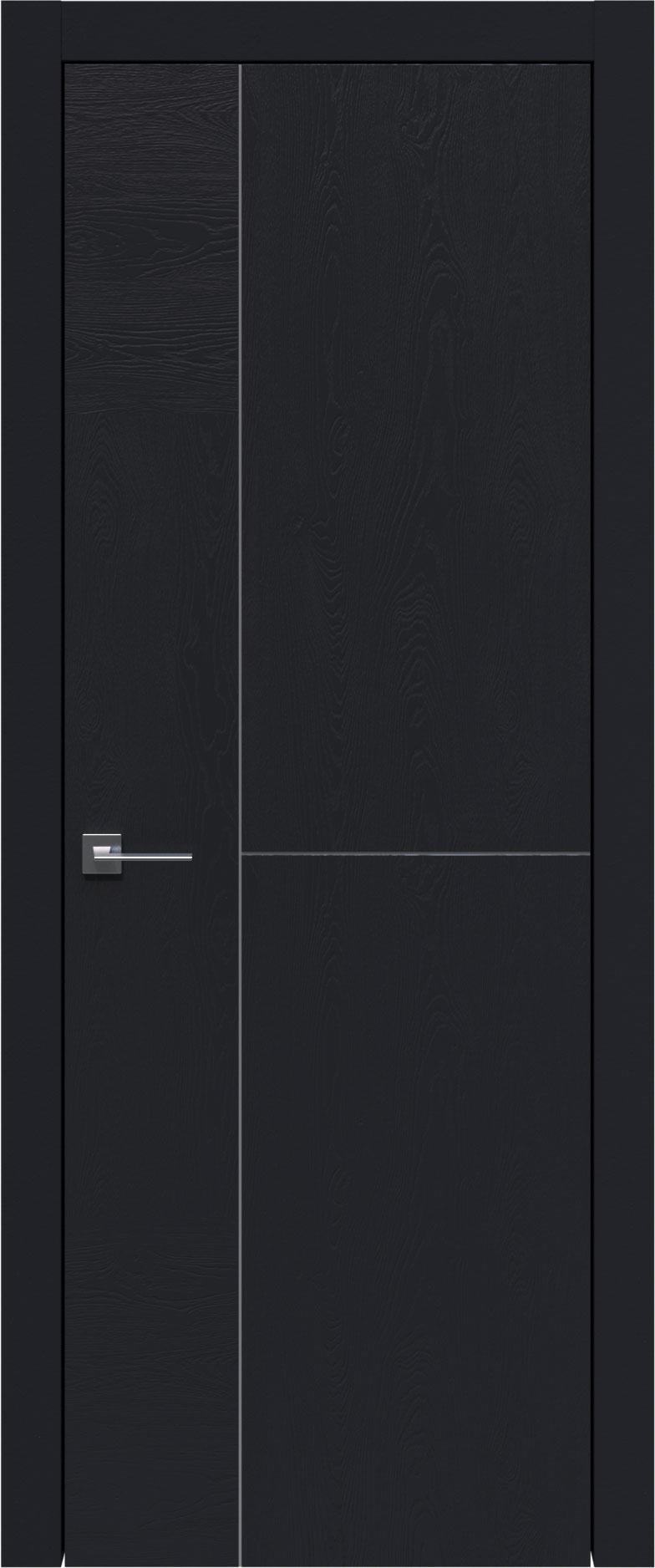 Tivoli Г-1 цвет - Черная эмаль по шпону (RAL 9004) Без стекла (ДГ)