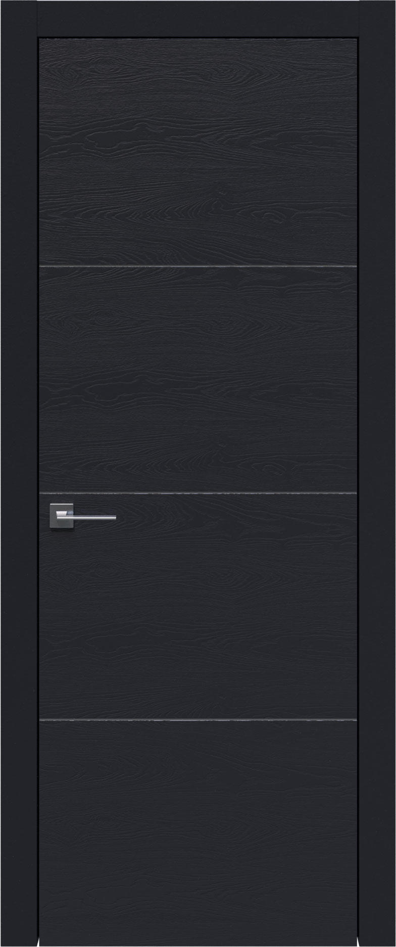 Tivoli Г-2 цвет - Черная эмаль по шпону (RAL 9004) Без стекла (ДГ)