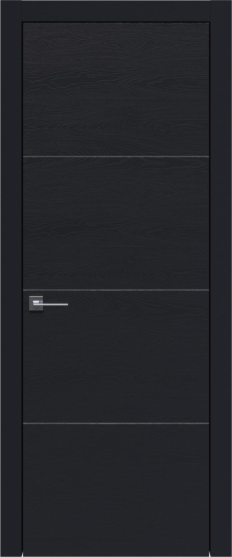 Tivoli Г-3 цвет - Черная эмаль по шпону (RAL 9004) Без стекла (ДГ)