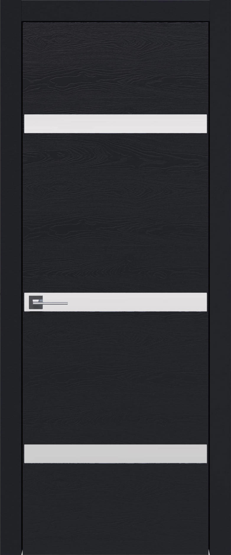 Tivoli Г-4 цвет - Черная эмаль по шпону (RAL 9004) Без стекла (ДГ)